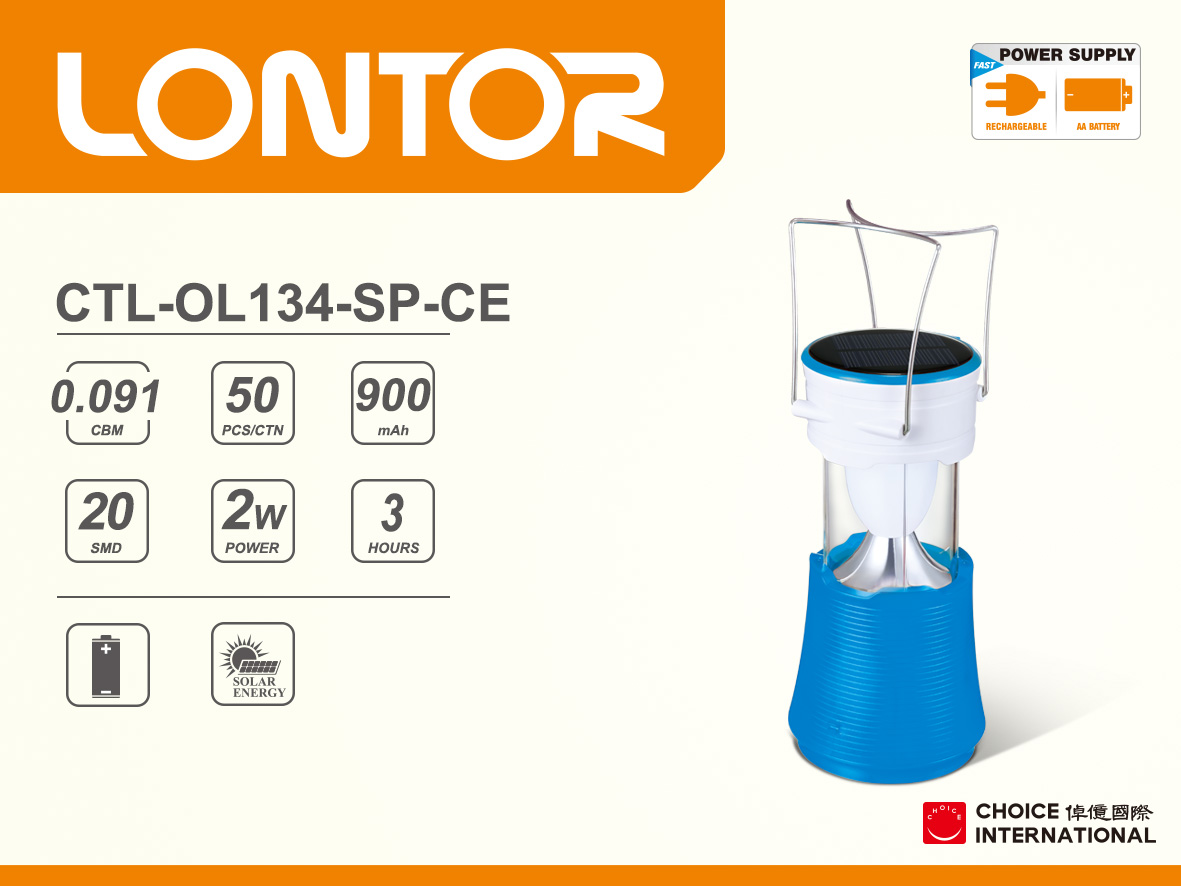 Rechargeable Camping Lantern CTL-OL134-SP-CE