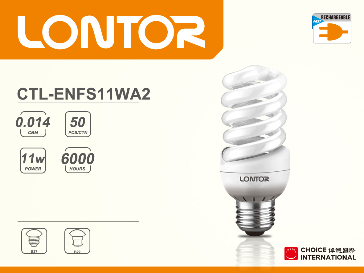 Energy Saving Lamp CTL-ENFS11WA2
