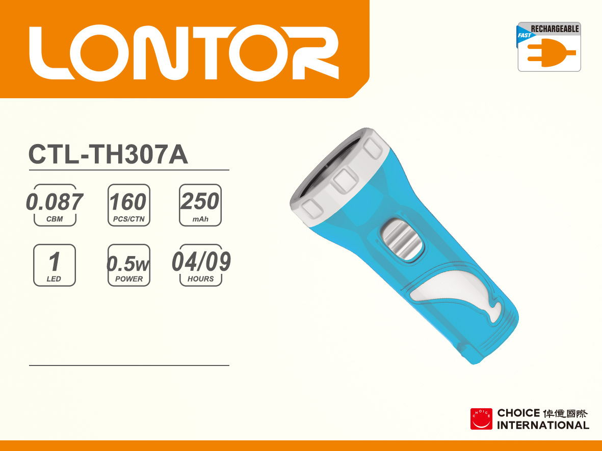 Rechargeable Torch CTL-TH307A