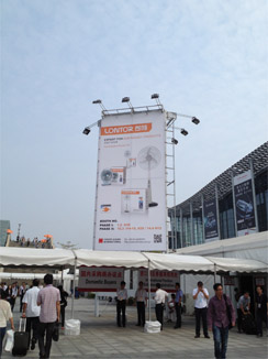 LONTOR ADVERTISEMENTS SHOWN IN THE CANTON FAIR