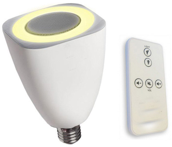 AwoX developed LED bulbs can play music